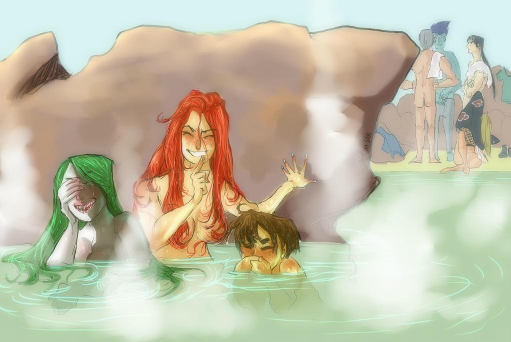 Akatsuki best trio- nostalgia drawing by NerinaSam