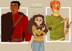make your choice HERMIONE by ToscaSam