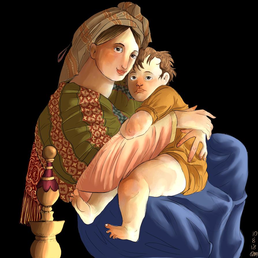 Madonna della Seggiola by ToscaSam