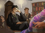 Sir, I wondered what you know about Horcruxes? by ToscaSam
