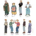 the Weasleys by ToscaSam