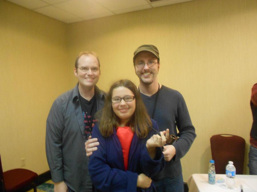 foto de Rob and Doug Walker and me Shadocon 2012 by pretty