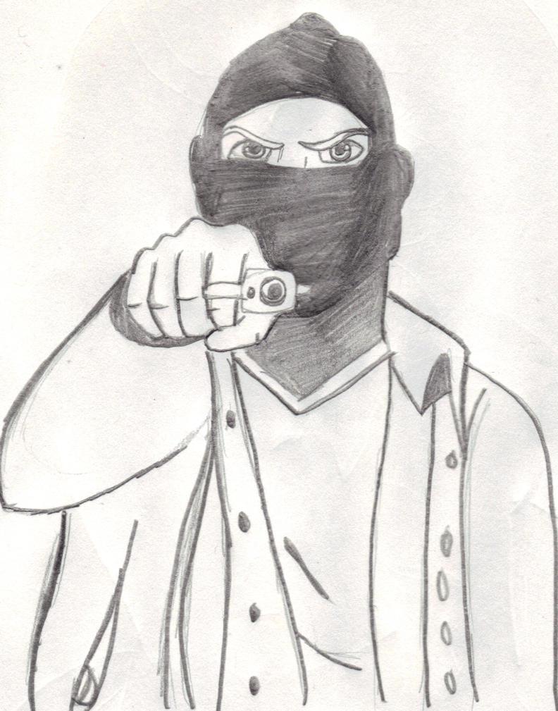 Cool Drawings Of Gangs...