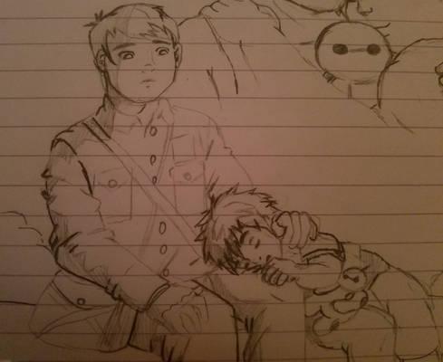 Little Tadashi and Hiro 2