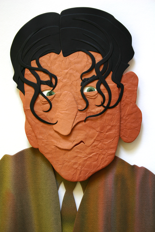 Shemp Howard caricature by FauxHead