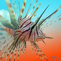 Lavish Lionfish by FauxHead