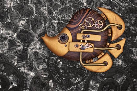 Steampunk Butterflyfish II