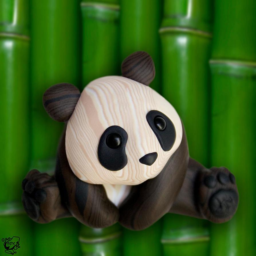 Bamboo Panda by FauxHead