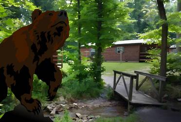 Camper Bear by FauxHead