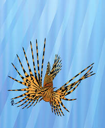 Stained Glass Lionfish