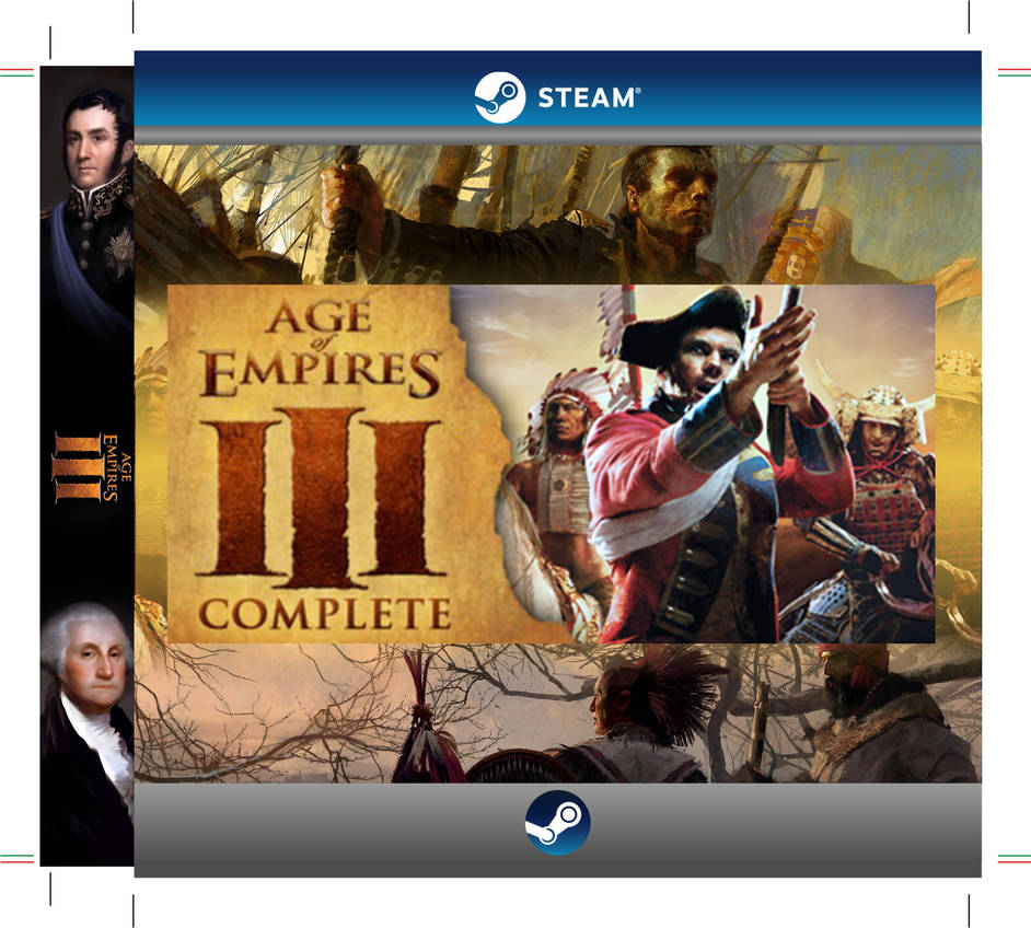 Steam Layout Cover - Age of Empires III Complete C by LeoRgz on