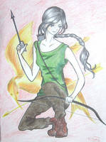 The Girl on Fire by lostinmylife1506