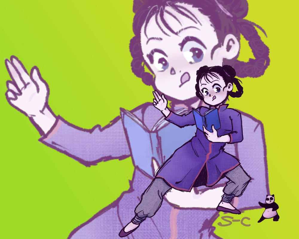 Mei Chang (and Xiao Mei) by season-walker