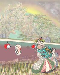 JAPANESE LANDSCAPE by jackpoint23