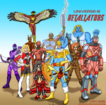 DC Alterverses: Universe 8 Retaliators