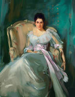 Sargent study 'Lady Agnew'