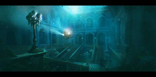 underwater by ChrisRosewarne