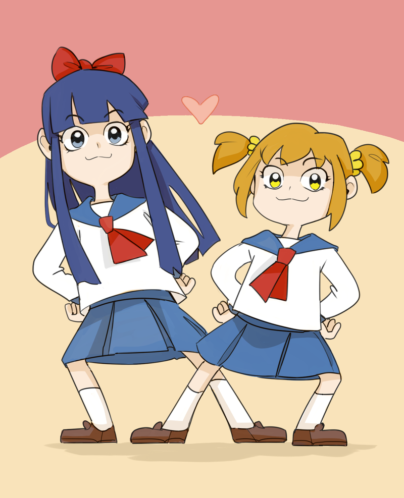 Pop Team Epic! by Florbe