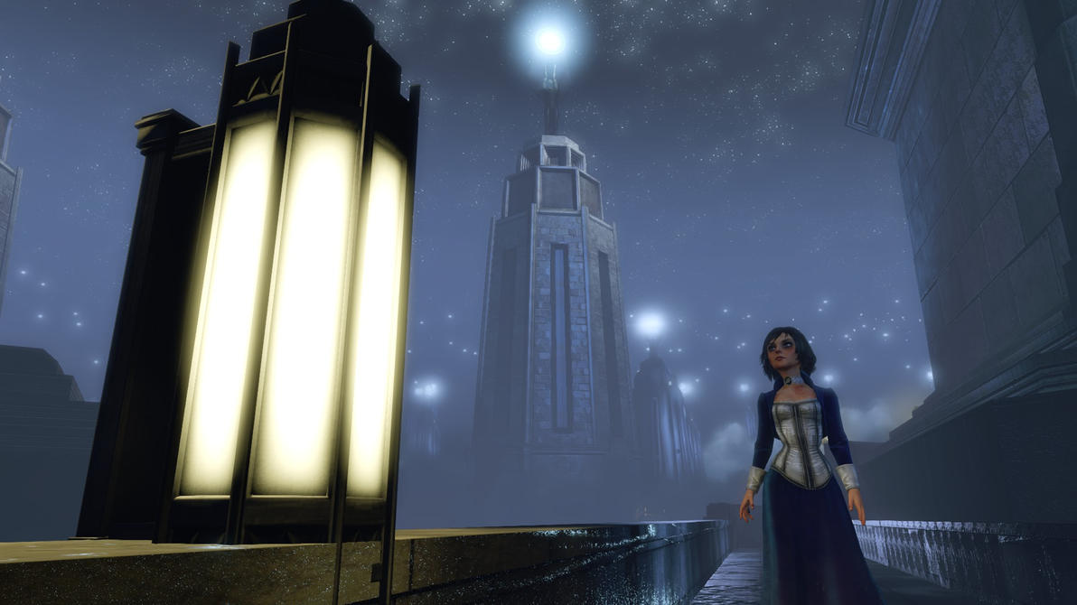 Elizabeth's Lighthouses (Bioshock Infinite spoiler by michaelajunker