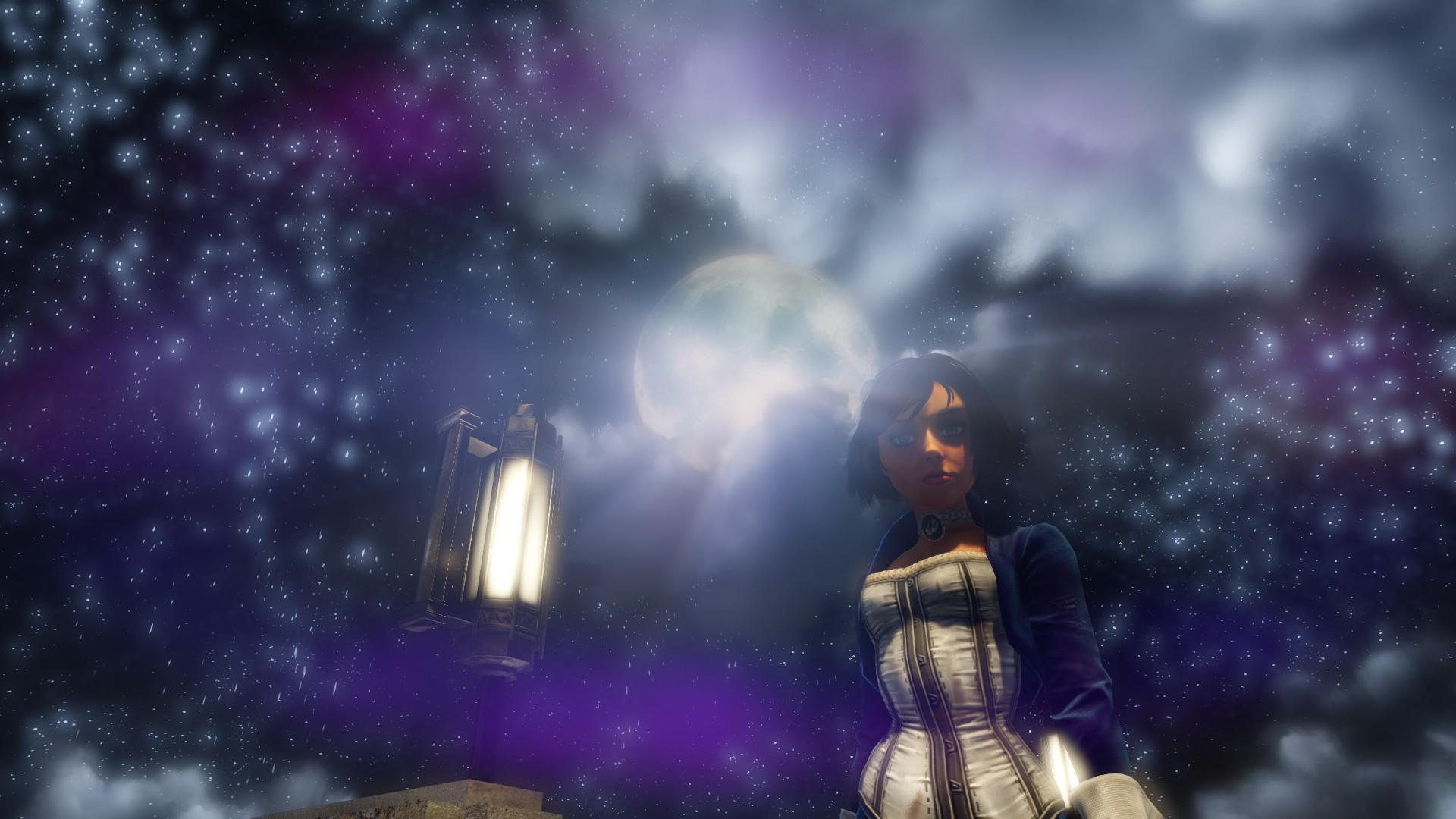 Elizabeth in the Moonlight by michaelajunker