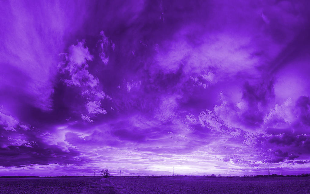 Violet Smoke Art Wallpapers: Wallpaper-violet By ZecoP On DeviantArt