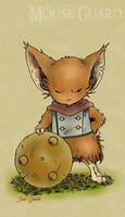 Mouse Guard: Rusty by Rustox