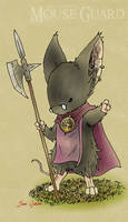 Mouse Guard: Ligia by Rustox