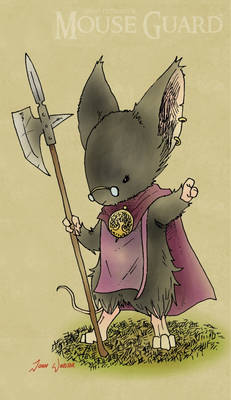 Mouse Guard: Ligia