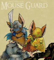 Mouse Guard: Armored by Rustox