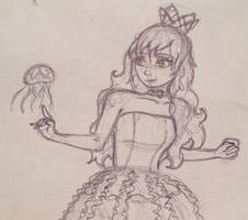 Princess Jellyfish by FluffyPaw25