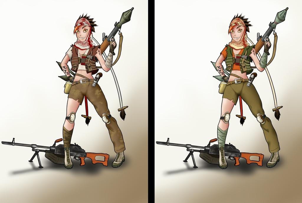 Terrorist Jinx (versions) by Aoyaibaba