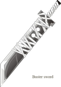Buster Sword by murd3r