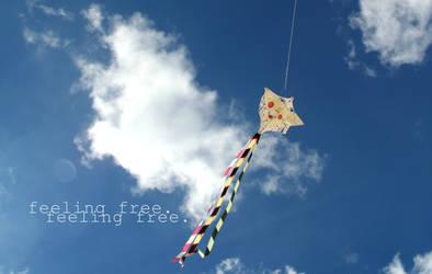 feeling free.