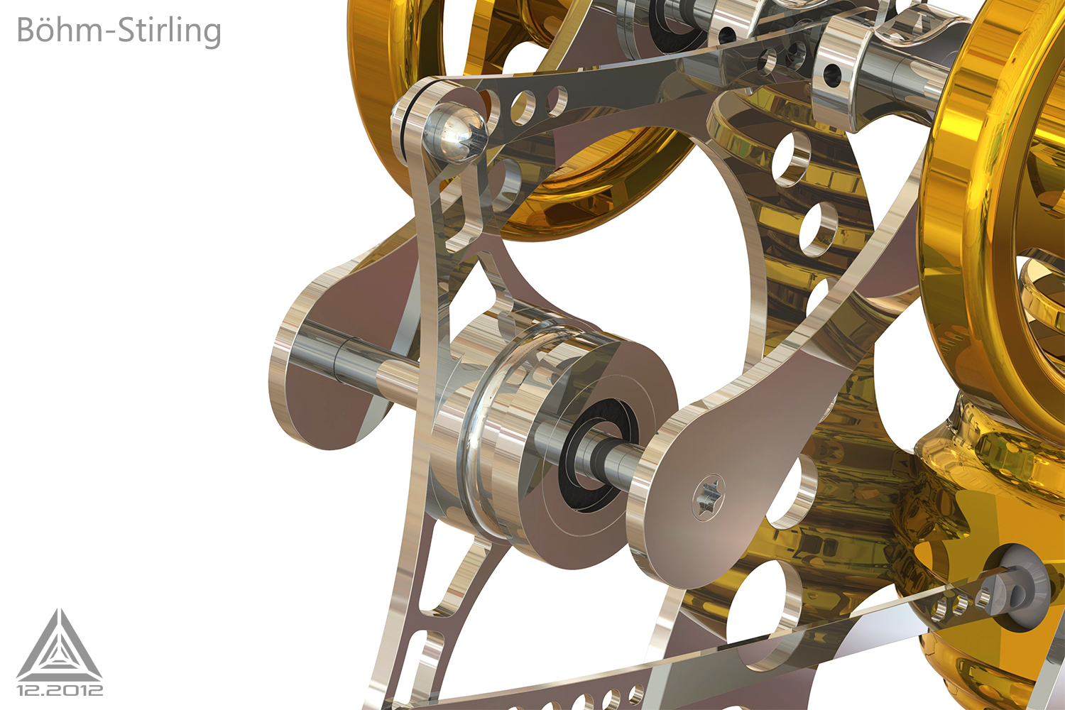 3d stirling engine 9 by icosaedri on deviantart for Decor 9 stirling