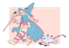 Little bit of magic by AliceKaninchenbau