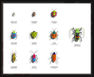 Bug Collection - Level 01 by ideatomik