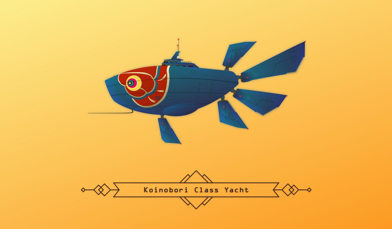 Koinobori Yacht by ideatomik