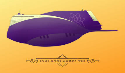 Cruise Airship by ideatomik