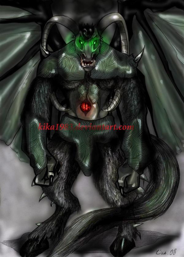 demon-commission by kika1983