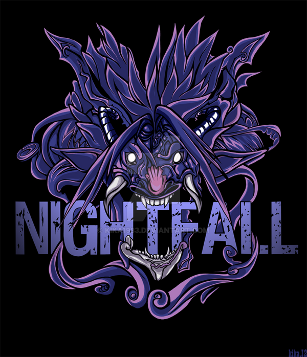 Nightfall monster-commission by kika1983