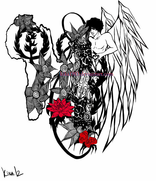 Image Result For Angel And Devil Tattoo Ideasa