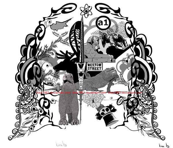 Traveller's tale tattoo design- commission by kika1983
