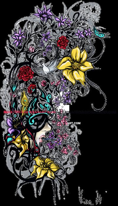 Feminility-tattoo-commission by kika1983