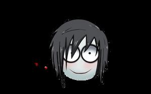 Emoji of Jeff the killer
