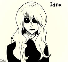 Sketch with Jane by Insanechan