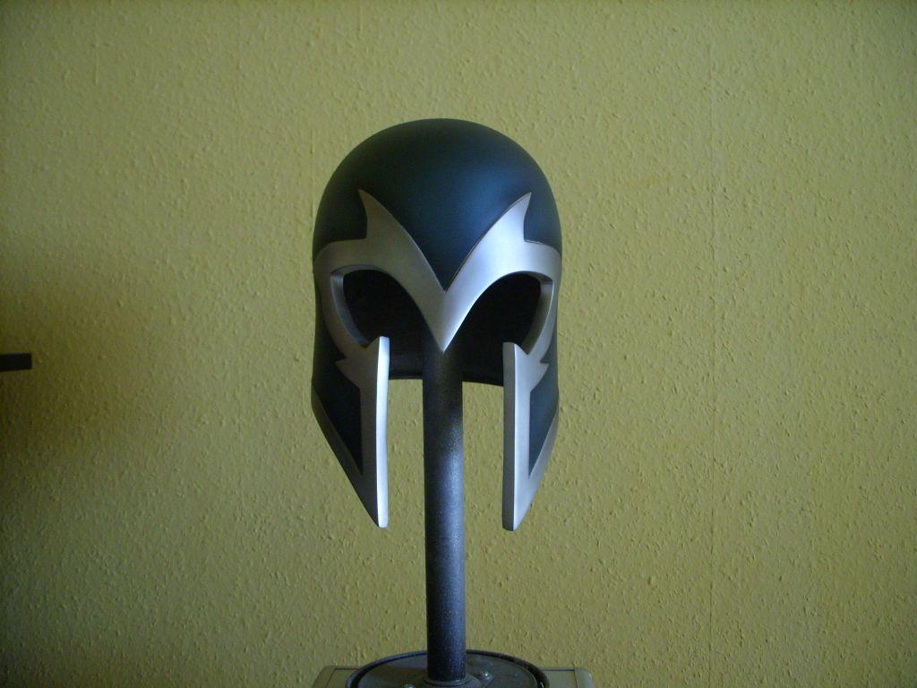 Magneto Helmet By Szigetiart