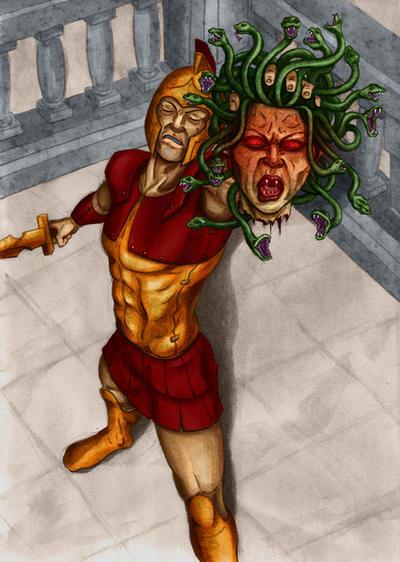 The Gorgon's Head Picture, The Gorgon's Head Image | 400 x 562 jpeg 66kB