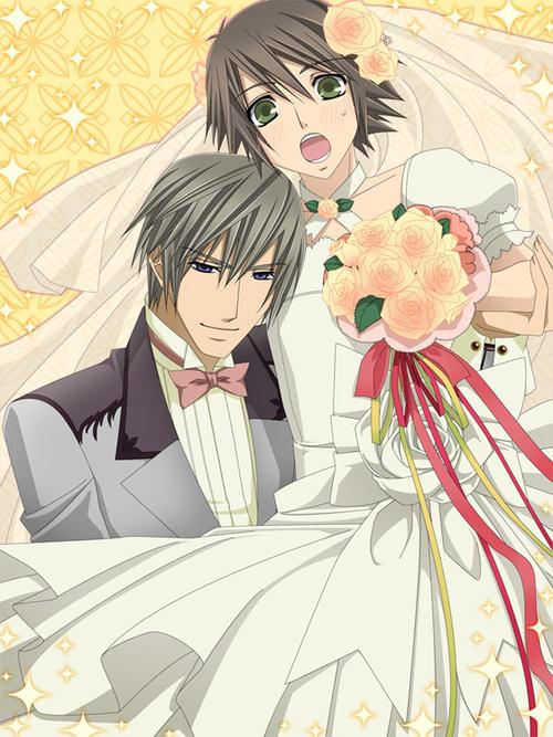 Misaki And Usagi Wallpaper Usagi and Misaki's Wed...