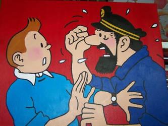 Pauvre Tintin