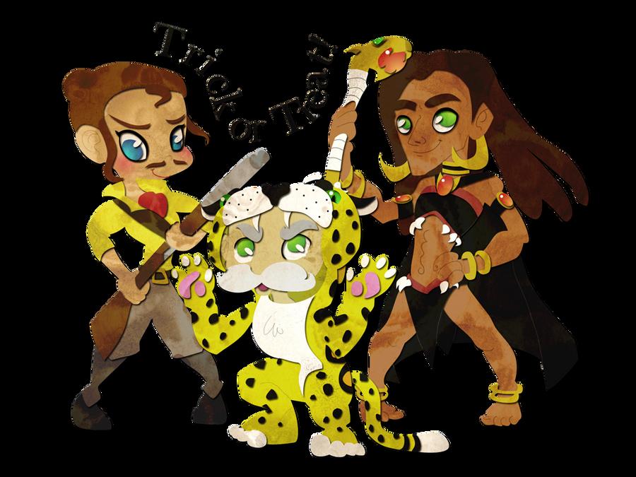 Tarzan Halloween by ashren